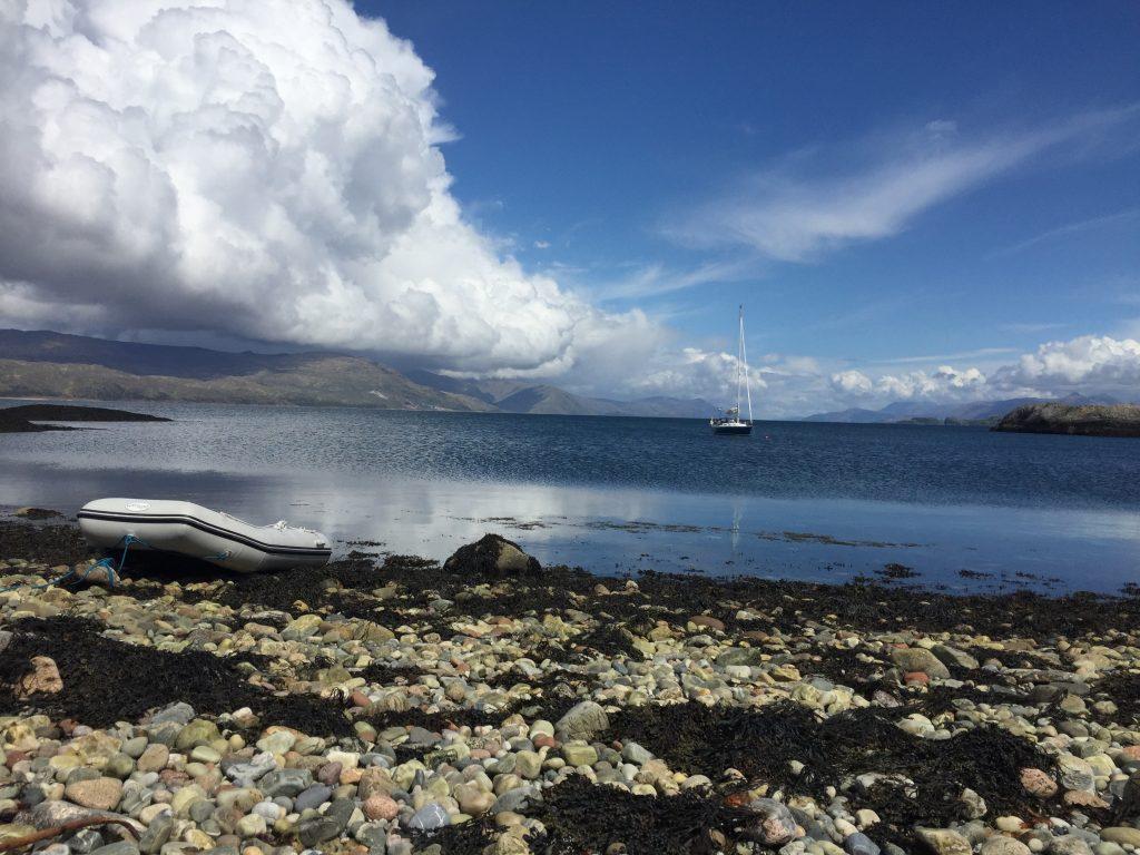sailing holiday Scotland